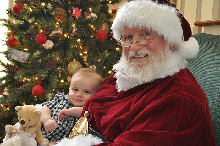 Atlanta Santa Claus Photo model